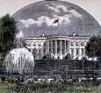 George Goodwin Kilburne - White House from South 1891